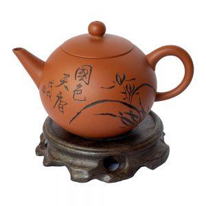 Ấm-trà-H3-đỏ-160ml-hoa-lan-1